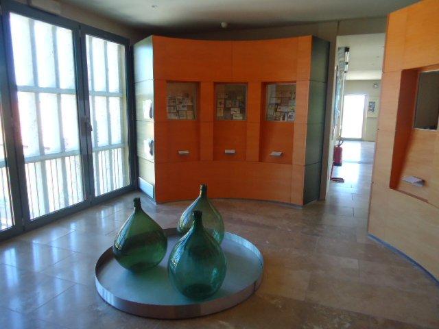 Interno del Museo del Vino
