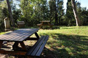 Tavolini al parco della Canonica