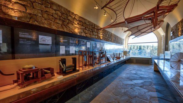 museo leonardiano e le vacanze in inverno in toscana