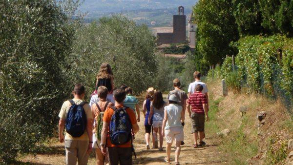 vacanze in estate in toscana nell'empolese valdelsa e montalbano